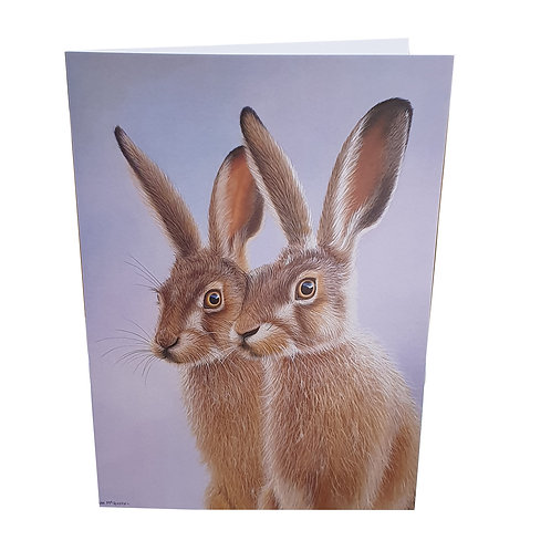 Hares Pack of 6