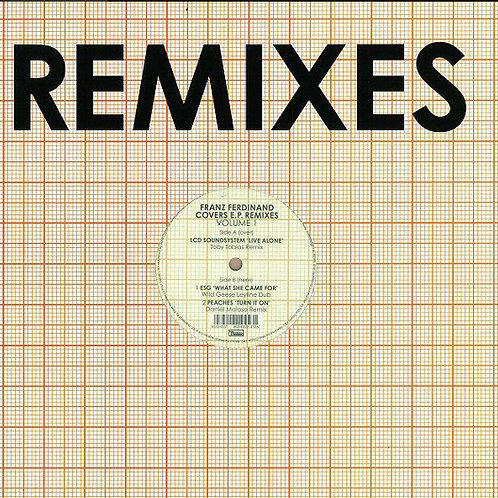 Franz Ferdinand – Franz Ferdinand Covers E.P. Remixes (Volume 1)