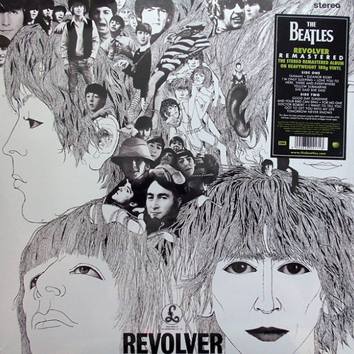The Beatles ‎– Revolver (Remastered, 180 Gram)