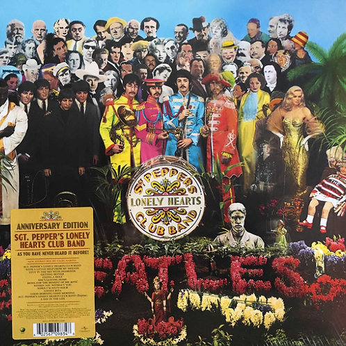 The Beatles ‎– Sgt. Pepper's Lonely Hearts Club Band (Anniversary edition)