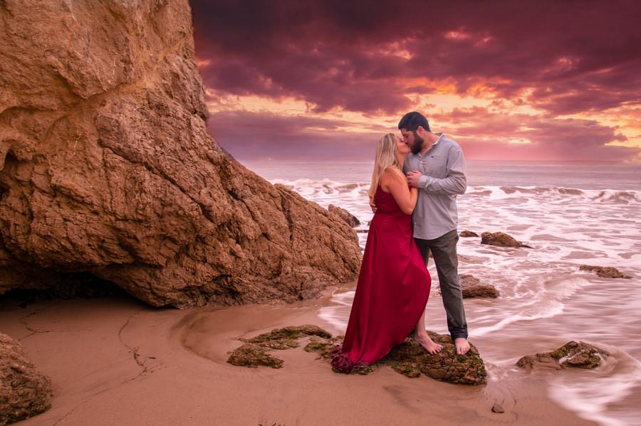 Liana and Matt In Malibu