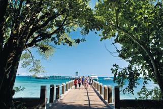 グリーン島桟橋
