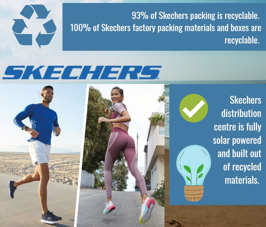 Skechers Sustainability Commitments