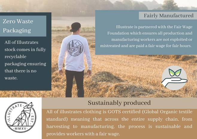 Illustrate sustainability statements