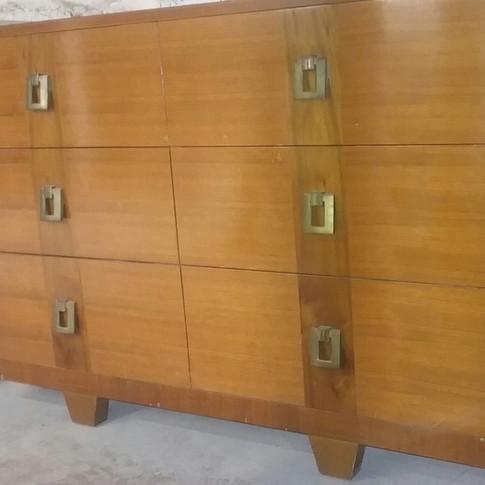 6-drawer Mid-Century Modern Dresser