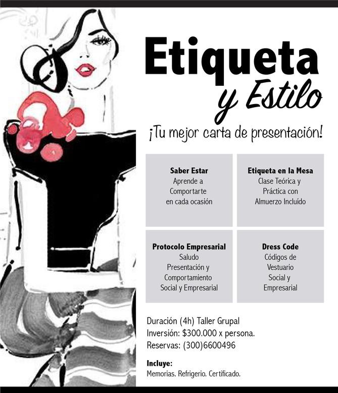TALLER DE ETIQUETA