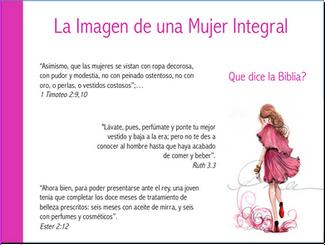 La Imagen de una Mujer Integral