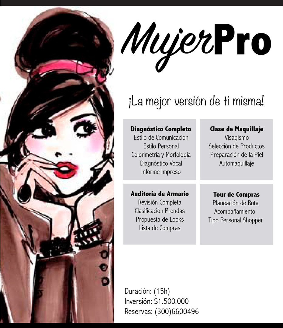 IMAGEN PERSONAL MUJER