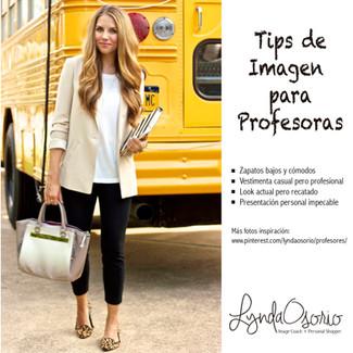 Tips de Imagen para Profesoras