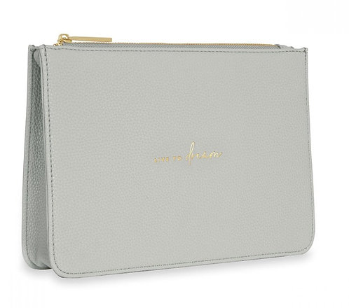 KATIE LOXTON| STYLISH STRUCTURED POUCH | LIVE TO DREAM