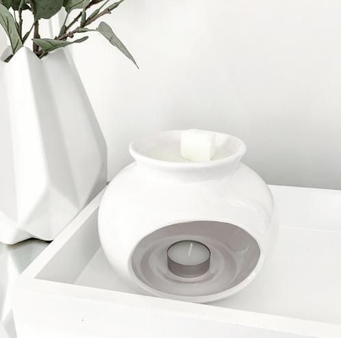 Sofia Ceramic Wax Burner - White