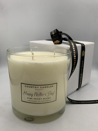 Mother's Day 3 Wick Boxed Candle