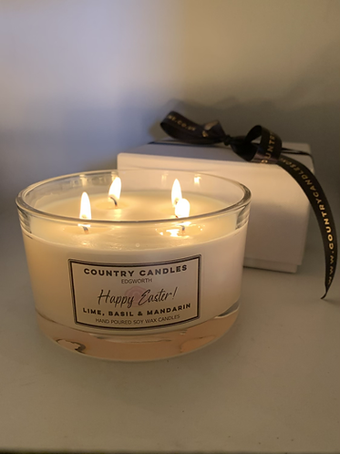 Easter 4 Wick Boxed Candle