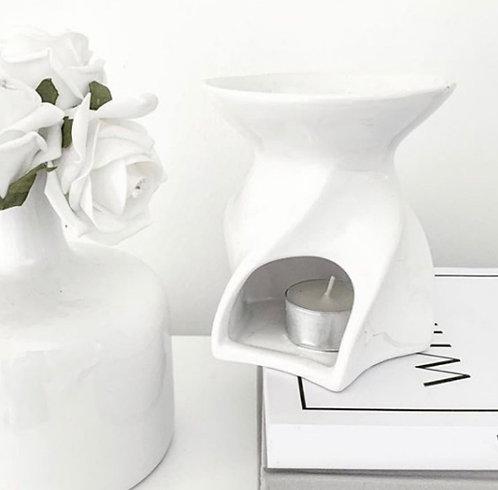 Emily Wax Melt Burner - White
