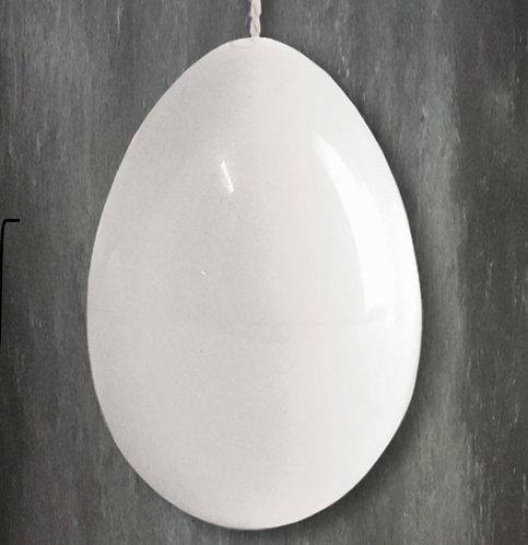 Porcelain egg-Plain