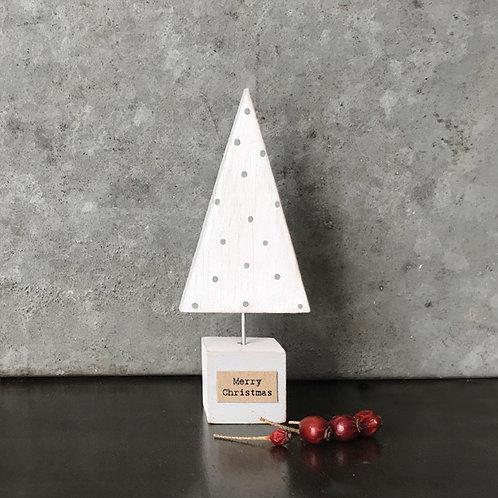 Handmade Xmas tree -white