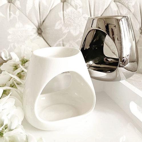 Chelsea Wax Melt Burner - White