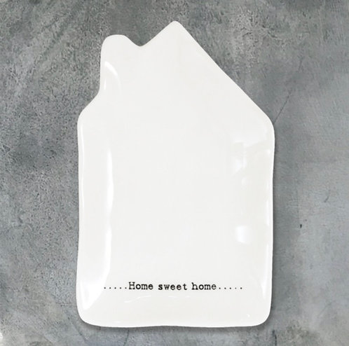 Wobbly house dish-Home sweet home