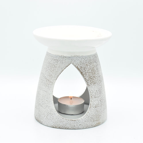 Ceramic Two Tone Wax Melt Burner with 20 wax melts