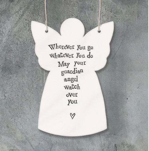 Porcelain angel-Wherever you go
