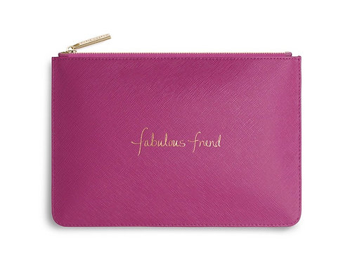KATIE LOXTON| PERFECT POUCH | FABULOUS FRIEND | CERISE PINK