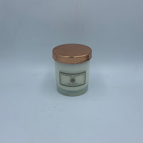 Luxury Votive Candle with Rose Gold Cover