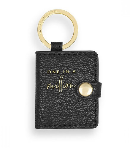 KATIE LOXTON  BEAUTIFULLY BOXED PHOTO KEYRING   ONE IN A MILLION BLACK
