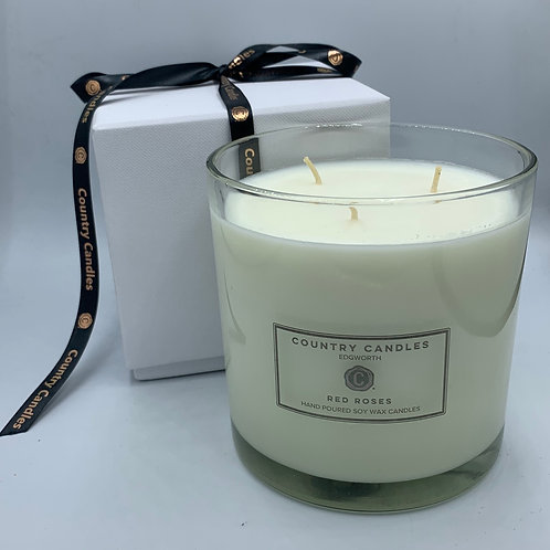 Luxury Boxed Triple Wick Candle Jar