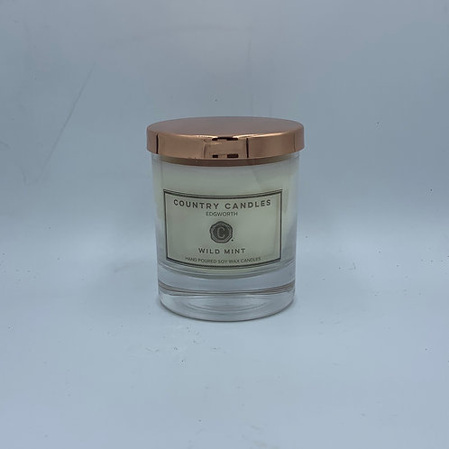 Luxury Medium Candle Jar with Rose Gold Cover