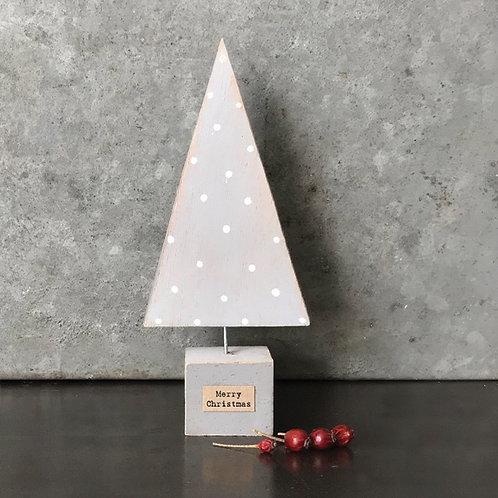 Handmade Xmas tree-Grey