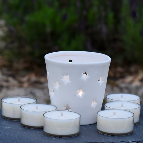 Scented Tealight Star Gift Set