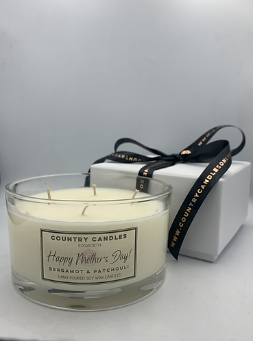 Mother's Day 4 wick Boxed Candle