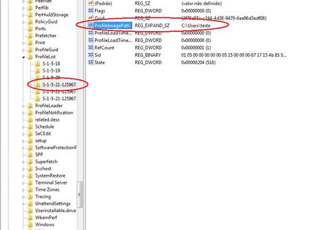 Recriar perfil de usuário a partir do Windows 7