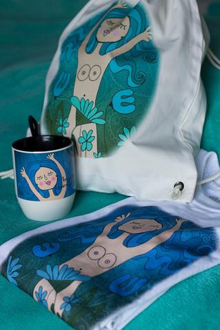De la tela a la ceramica...