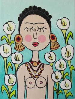 Frida y las calas