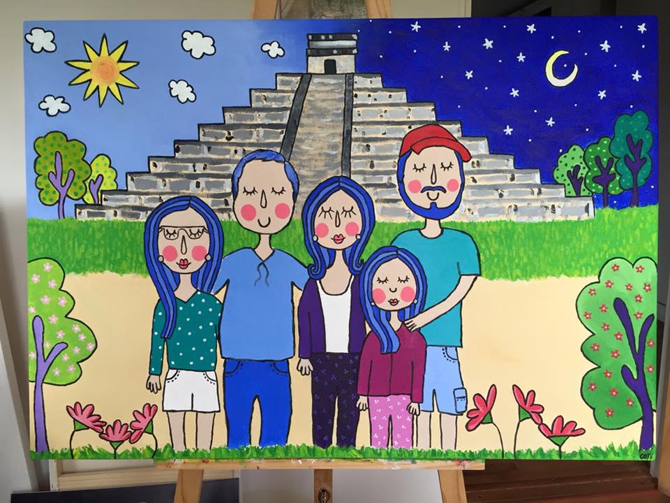 Familia Crisostomo Valenzuela