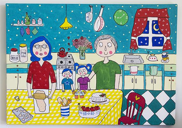 Cocina de los abuelos