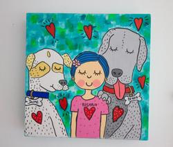 Rosario y sus perros