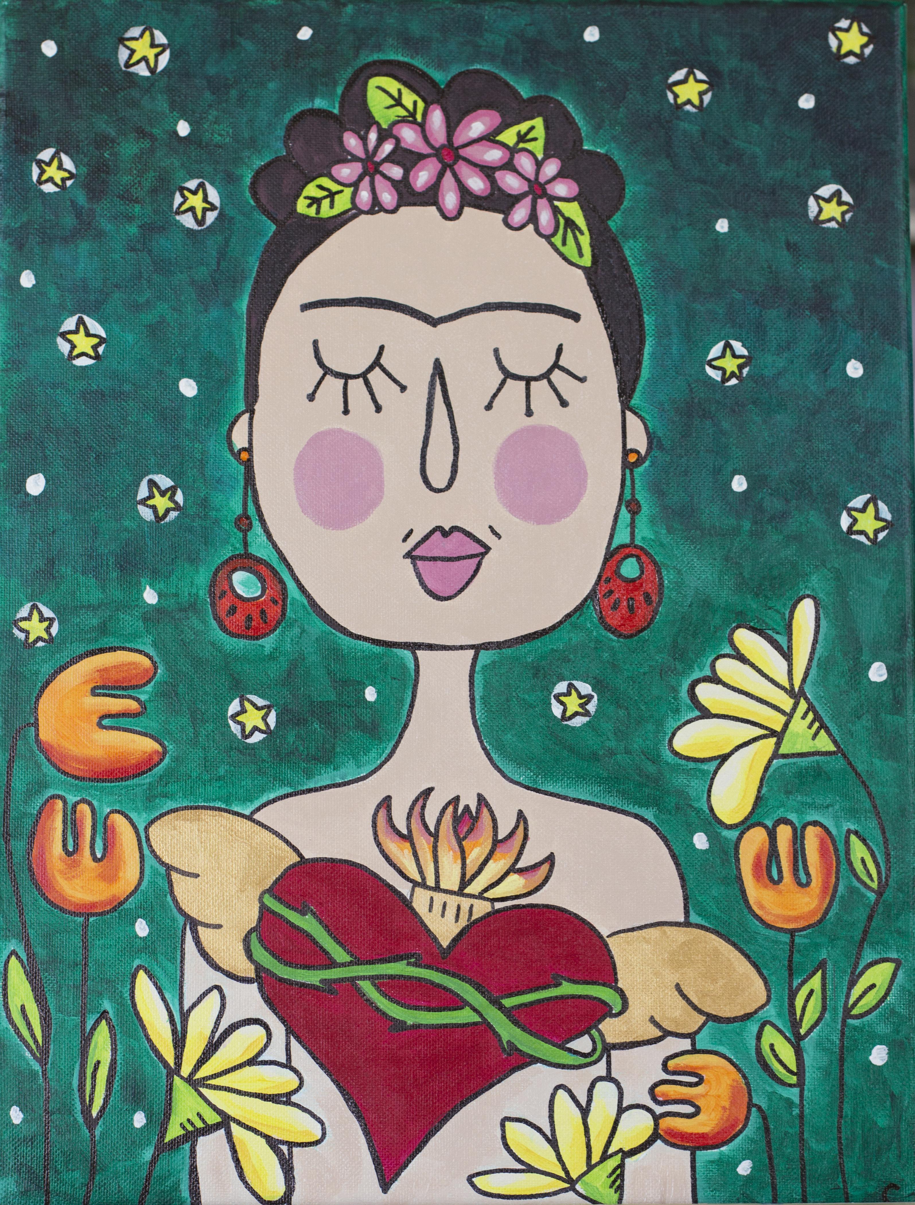 Frida corazón desnudo