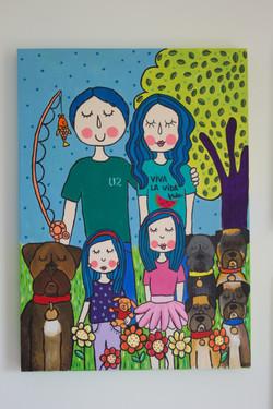 Familia Mena Ibarra