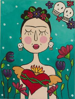 Frida corazón desnudo 2