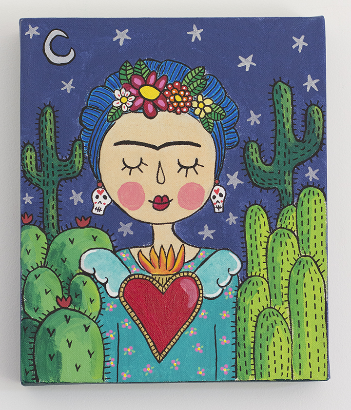 Frida y cactus 2