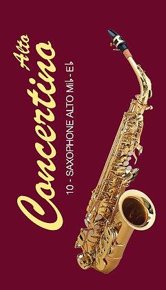 "Reeds for Alto saxophone ""Concertino"" (10pcs.)"