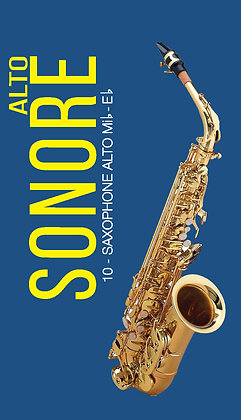 "Reeds for Alto saxophone ""Sonore"" (10pcs.)"