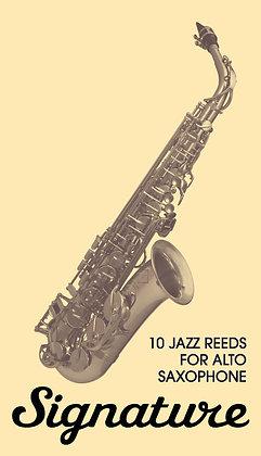 "Reeds for Alto saxophone ""Signature"" (10pcs.)"