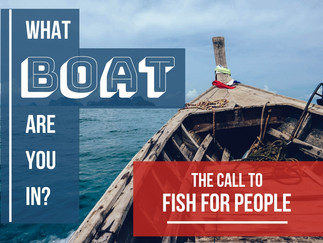 Peter's First Boat: The Call to Fish for People