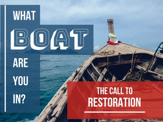 Peter's Third Boat: The Call to Restoration