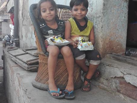 attackiert von verwahrlosten Straßenkinder