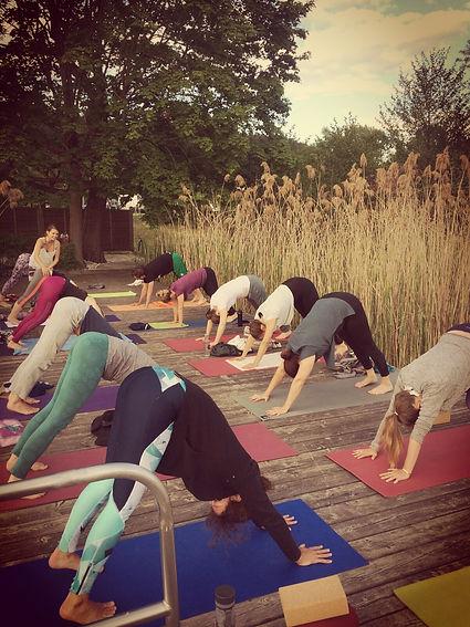 Yoga am Seerosensteg Monatskarte