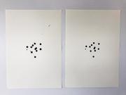 Adesivos e nanquim sobre papel canson 42x60cm 2017